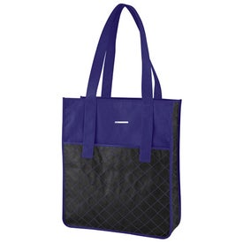 Nonwoven Quilted Shopper Tote
