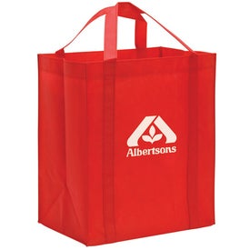 Imprinted Non-Woven Reusable Grocery Tote