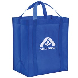 Non-Woven Reusable Grocery Tote for Advertising