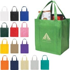 Advertising Non-woven Shopper Tote Bag