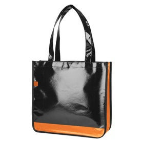 Nonwoven Slick Midnight Tote