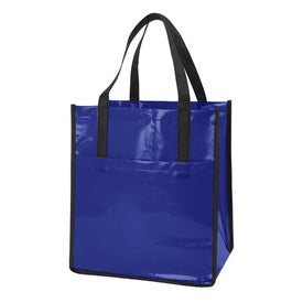 Personalized Nonwoven Slick Shopper Tote