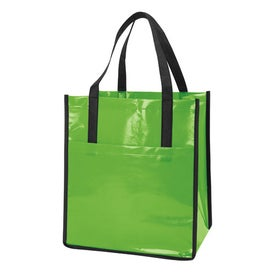 Company Nonwoven Slick Shopper Tote
