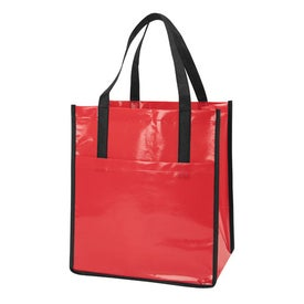 Nonwoven Slick Shopper Tote Giveaways
