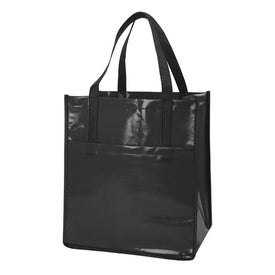 Nonwoven Slick Shopper Tote