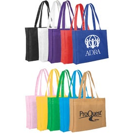 "Non-Woven Tote Bag (15"" x 12"" x 3"", Screen Print)"