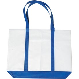 Promotional Non-woven Tote with Trim Colors