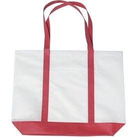 Non-woven Tote with Trim Colors for Your Company