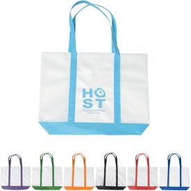 Non-woven Tote with Trim Colors for your School