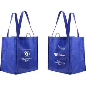 Printed Non-Woven Tundra Tote Bag