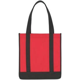 Non Woven Two Tone Shopper Tote Bag for Your Church