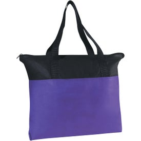 Customizable Non-woven Zippered Tote Bag for Marketing