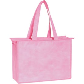 Branded Non-woven Zippered Tote Bag