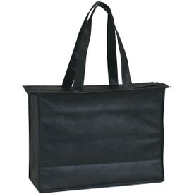 Non-woven Zippered Tote Bag for Promotion