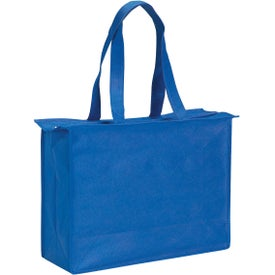 Non-woven Zippered Tote Bag for Your Organization