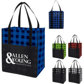 """Northwoods Laminated Non-Woven Tote Bag (15"""" x 13"""")"""