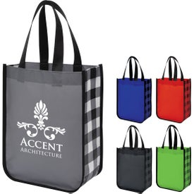 """Northwoods Laminated Non-Woven Tote Bag (11-3/4"""" x 9-1/4"""")"""