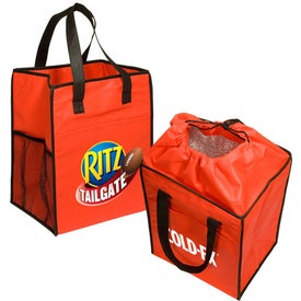 Non-Woven Drawstring Grocery Tote Imprinted with Your Logo