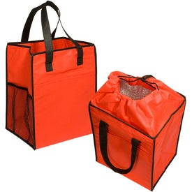 Non-Woven Drawstring Grocery Tote for Your Organization