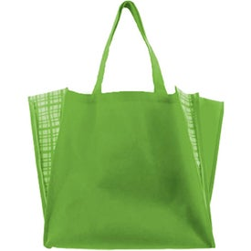 Advertising Non Woven Peek-A-Boo Tote