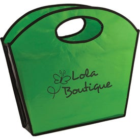 Oval Handle Laminated Tote Bag for your School