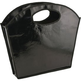 Oval Handle Laminated Tote Branded with Your Logo