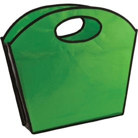 Promotional Oval Handle Laminated Tote