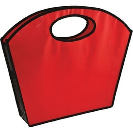 Oval Handle Laminated Tote for Advertising