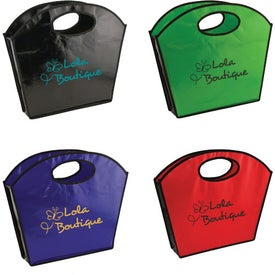 Personalized Oval Handle Laminated Tote