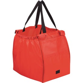 Branded Over the Cart Grocery Tote Bag