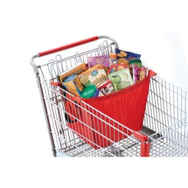 Logo Over the Cart Grocery Tote Bag
