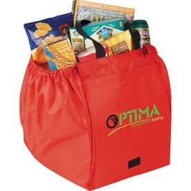 Over the Cart Grocery Tote Bag for Promotion