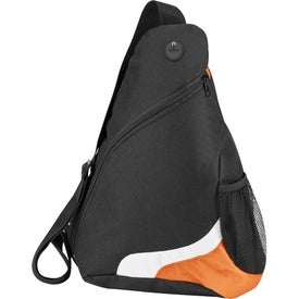 Over the Shoulder Sling Pack with Your Slogan