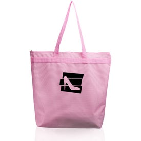 Oversized Candid Tote Bag with Zipper