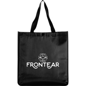 Oversized Laminated Non-Woven Shopper Tote Bag