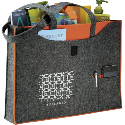 Owl 100% Recycled Felt Business Tote