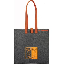 Company Owl 100% Recycled Felt Meeting Tote
