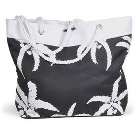 Promotional Palm Tree Rope Tote