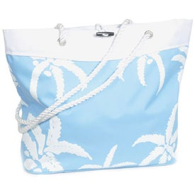 Palm Tree Rope Tote for your School