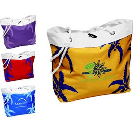 Palm Tree Rope Tote