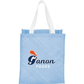 Pastel Non-Woven Big Grocery Tote Bag