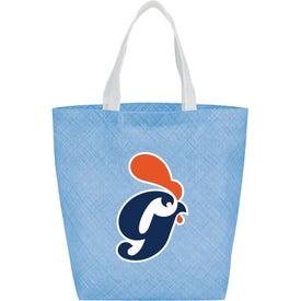 Pastel Shopper Non-Woven Tote Bag