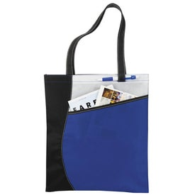 Pattern Curve Non-Woven Tote for Marketing