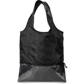 Piazza Foldaway Shopper Tote Bag for Customization
