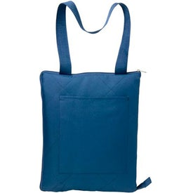 Branded Picnic Blanket Tote Bag