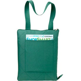 Picnic Blanket Tote Bag with Your Slogan