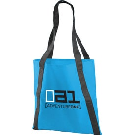 Pinnacle Non-Woven Tote Bag with Your Slogan