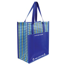 Planet Pocket Tote Bag Imprinted with Your Logo