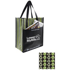 Planet Pocket Tote Bag for Advertising