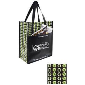 Planet Pocket Tote Bag for Advertising